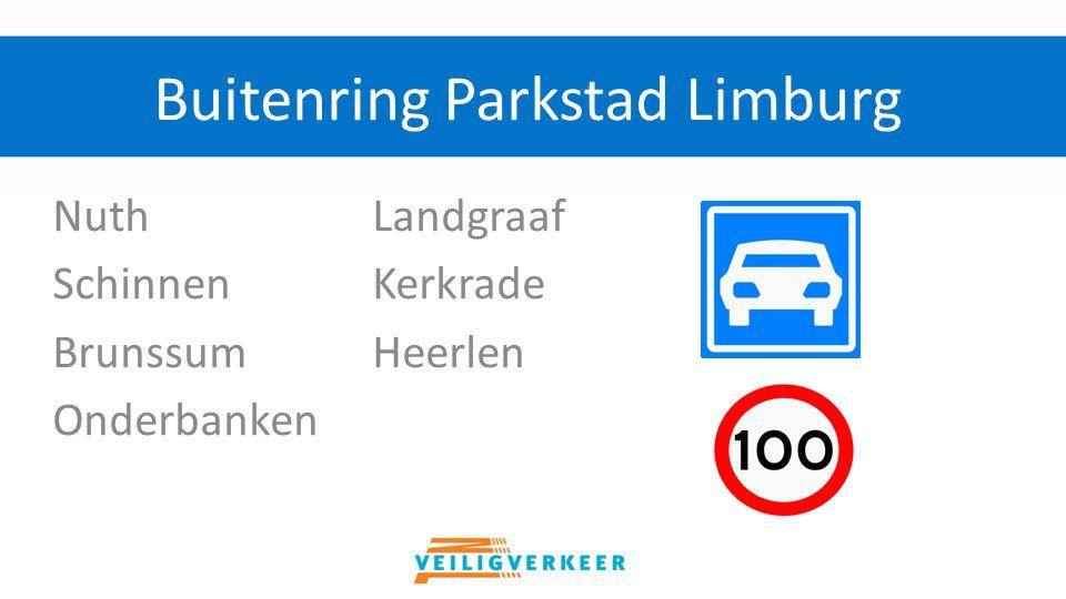 NuthLandgraaf SchinnenKerkrade BrunssumHeerlen Onderbanken Buitenring Parkstad Limburg