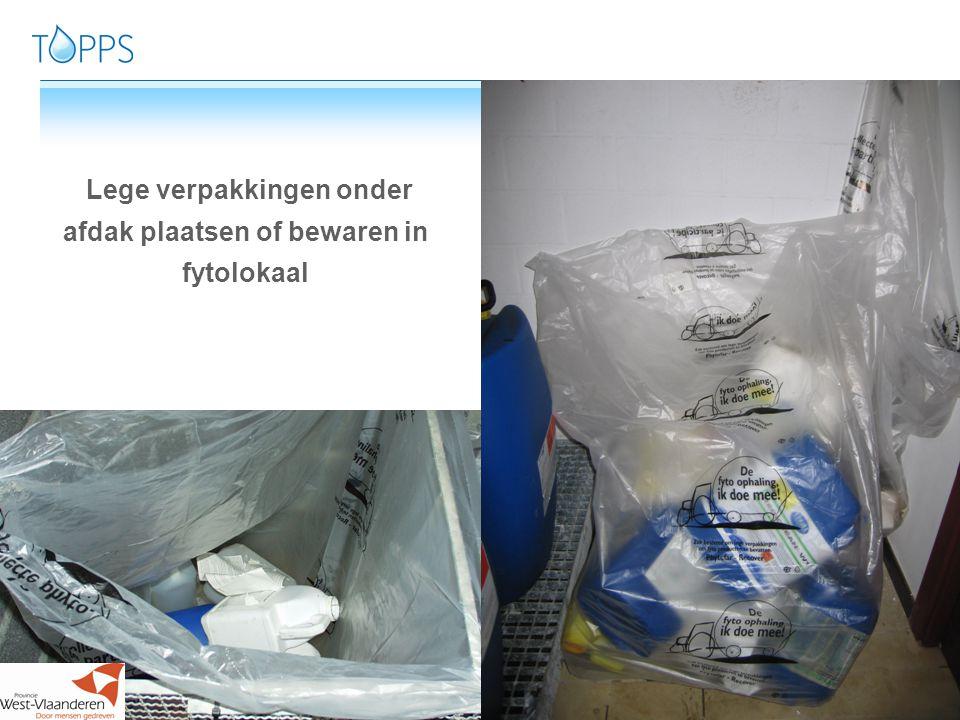 66 6www.topps-life.org Spoel lege verpakkingen grondig en spoelwater meteen bij spuitoplossing voegen