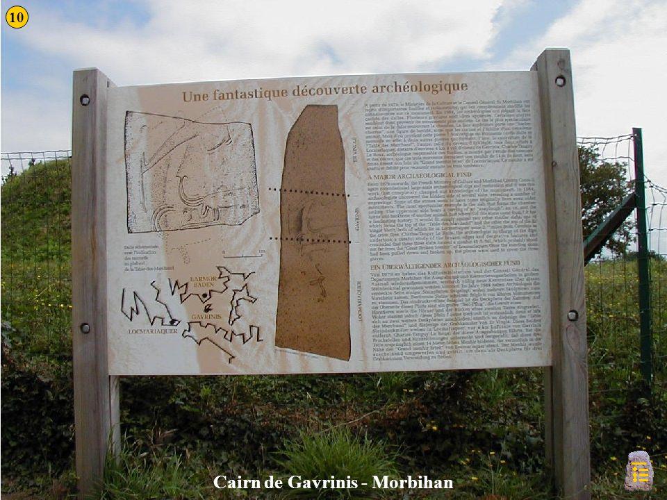Gavrinis 2a Cairn de Gavrinis - Morbihan 10