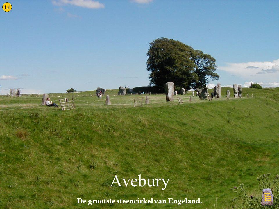 Avebury De grootste steencirkel van Engeland. 14