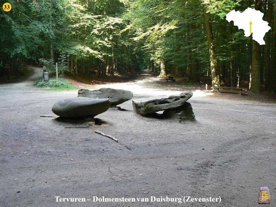 Tervuren Tervuren – Dolmensteen van Duisburg (Zevenster) 33