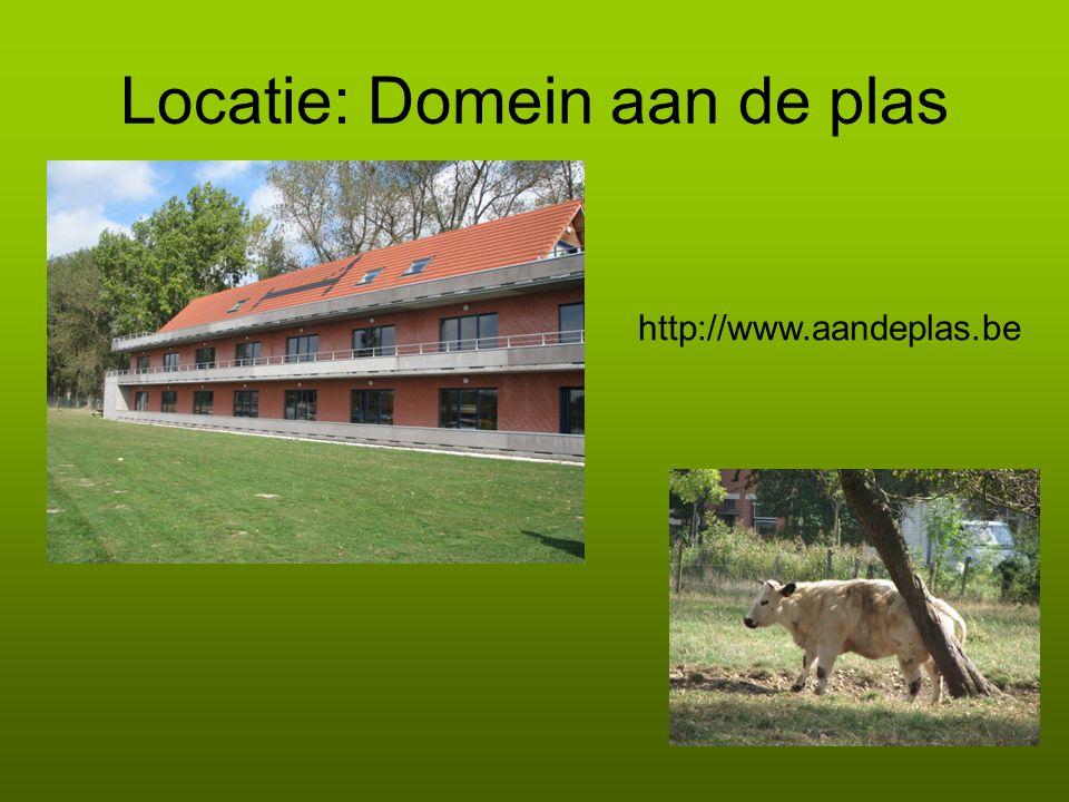 Locatie: Domein aan de plas http://www.aandeplas.be