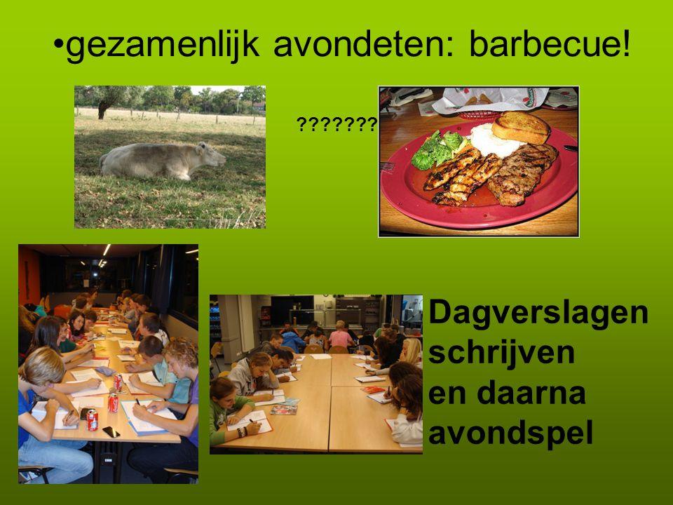 Dinsdag 24 september 07.30 uur: gezamenlijk ontbijt Alle leerlingen Ochtend fietsen naar Brugge Stadswandeling Brugge Beklimming Belfort Rondvaart over Brugse reien Lunchen in Brugge op eigen gelegenheid