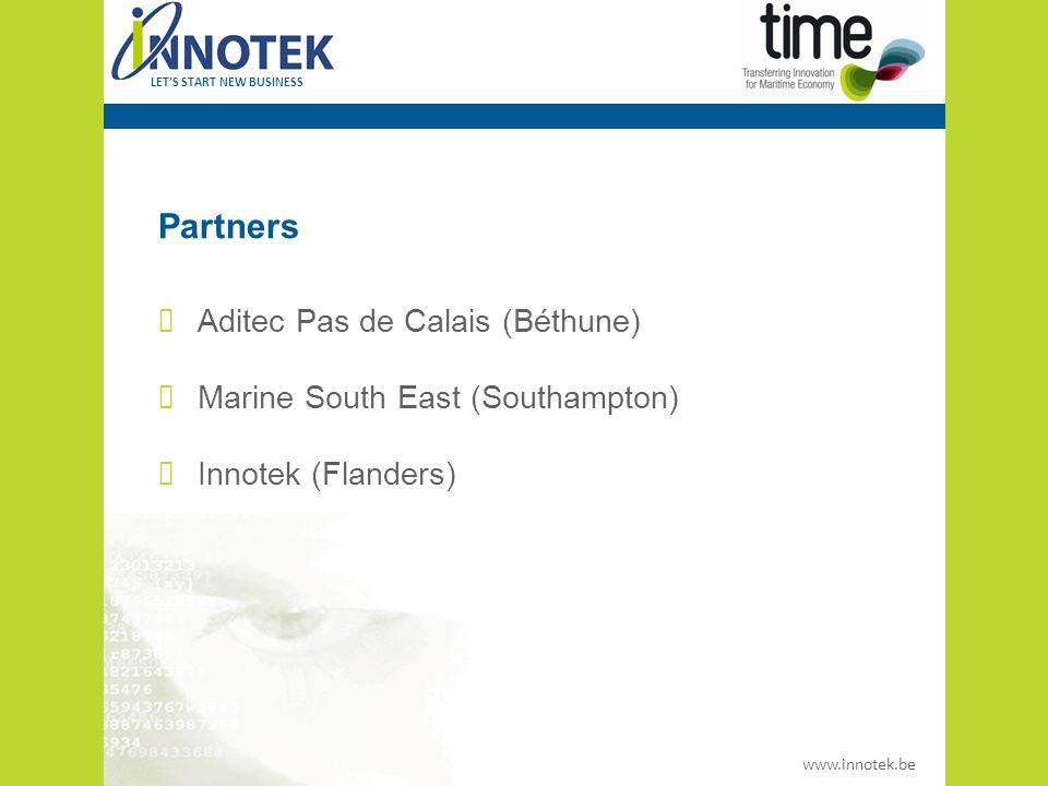 www.innotek.be LET'S START NEW BUSINESS Projectperiode 1 januari 2009 – 31 december 2011 (….2012)