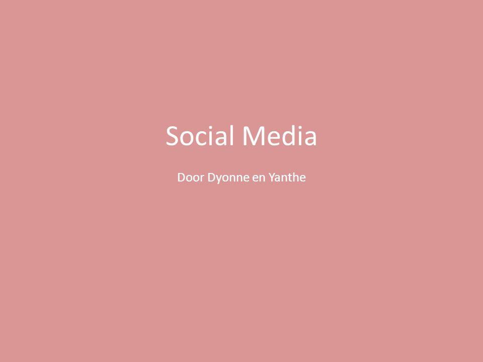 De rol van social media in marketing & internetstrategie: Met behulp van social media kunnen bedrijven reclame maken bij alle doelgroepen.