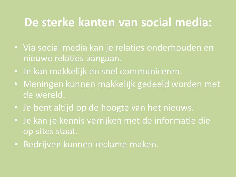 De zwakke kanten van social media: Mensen communiceren minder in het echt.