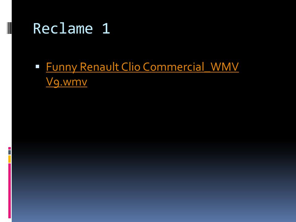 Reclame 1  Funny Renault Clio Commercial_WMV V9.wmv Funny Renault Clio Commercial_WMV V9.wmv