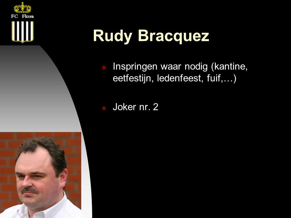 26-09-12 Rudy Bracquez Inspringen waar nodig (kantine, eetfestijn, ledenfeest, fuif,…) Joker nr. 2