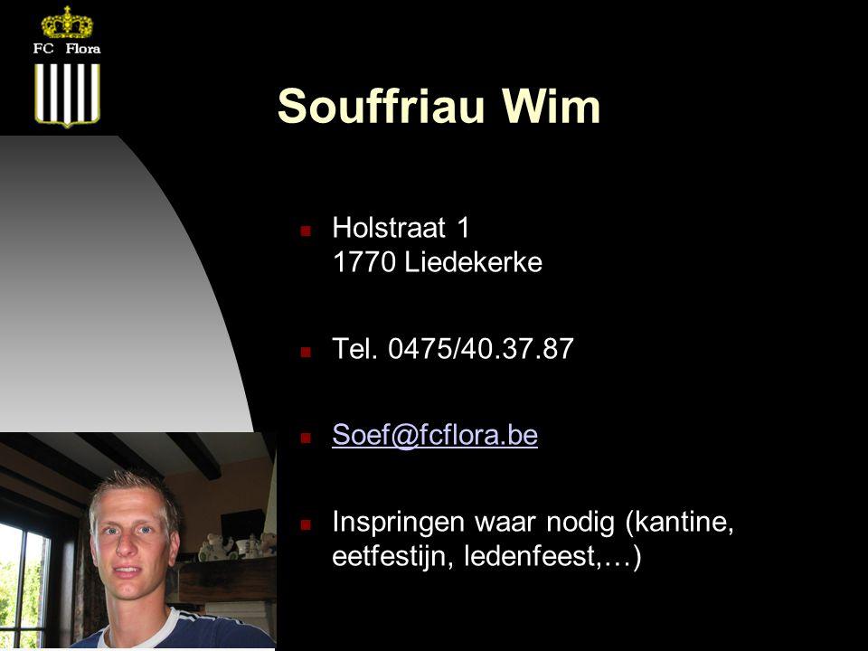 26-09-12 Souffriau Wim Holstraat 1 1770 Liedekerke Tel.