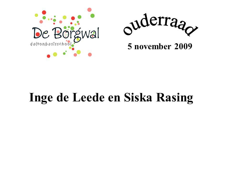 5 november 2009 Inge de Leede en Siska Rasing