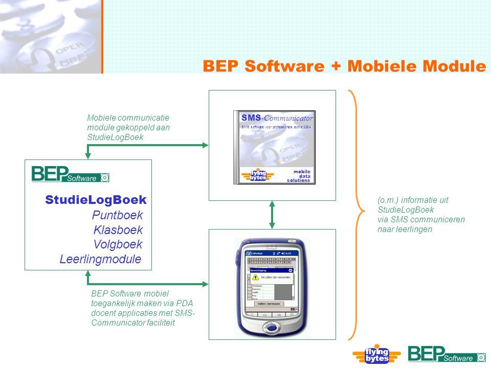 onafhankelijk, flexibel en deskundig BEP Software + Mobiele Module fly ng bytes fly ng bytes SMS -Communicator SMS software voor professionals, editie