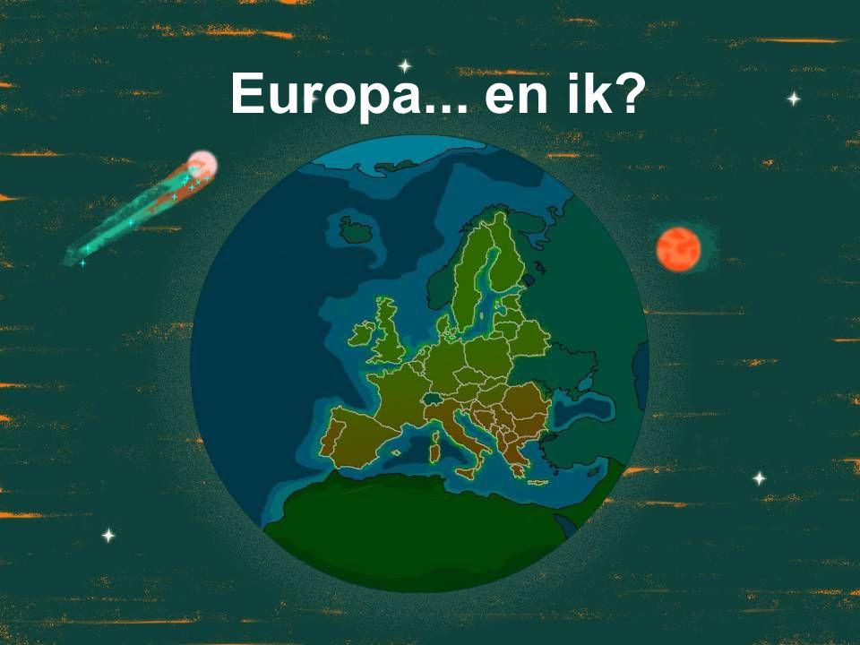 Europa... en ik