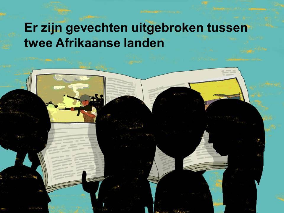 Er zijn gevechten uitgebroken tussen twee Afrikaanse landen