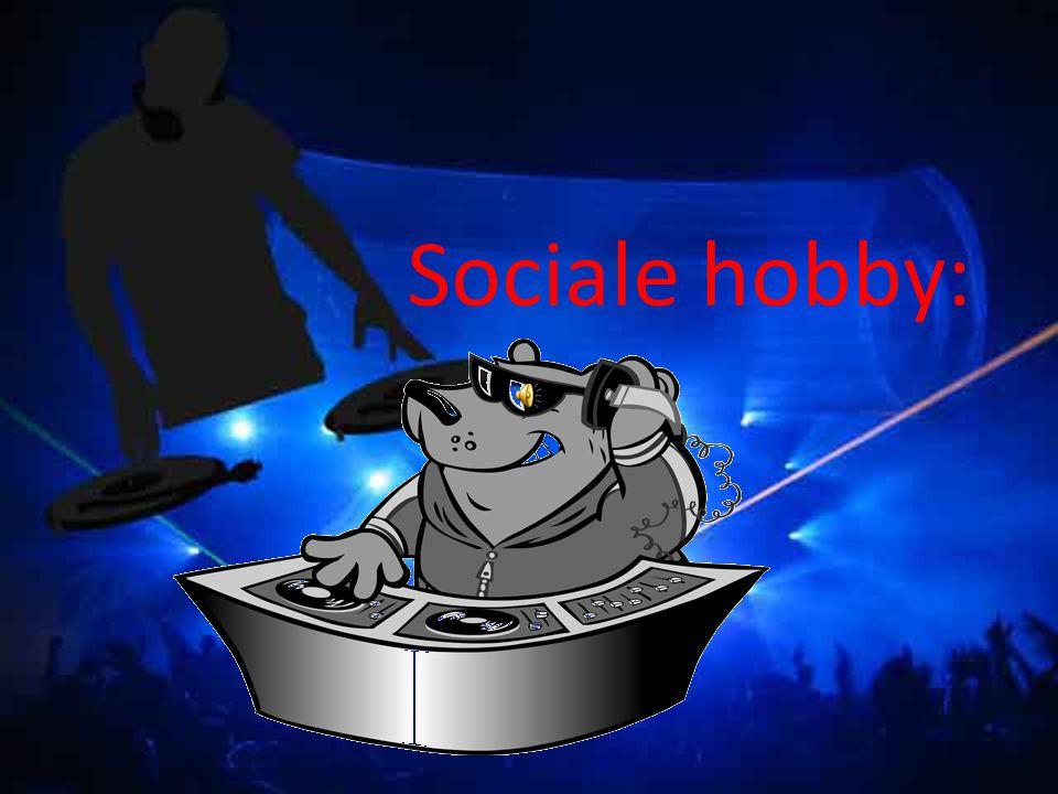 Sociale hobby: DJ's