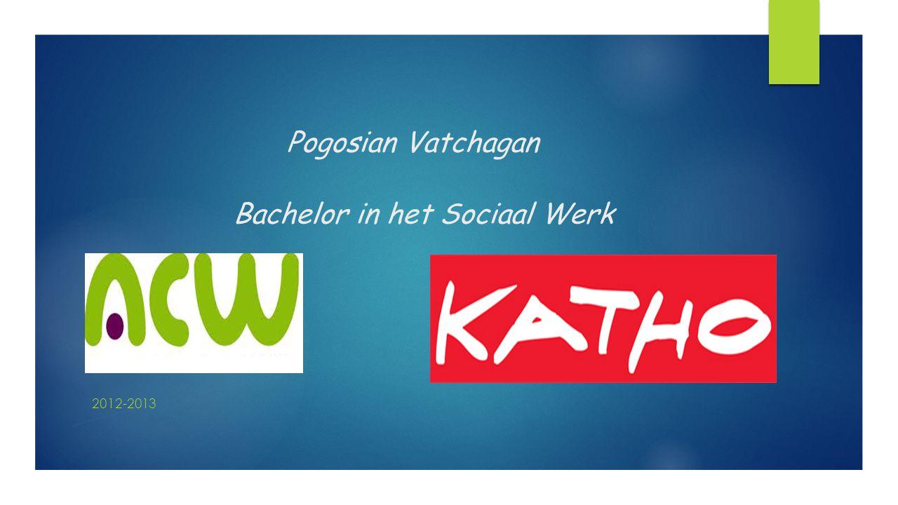 Pogosian Vatchagan Bachelor in het Sociaal Werk 2012-2013