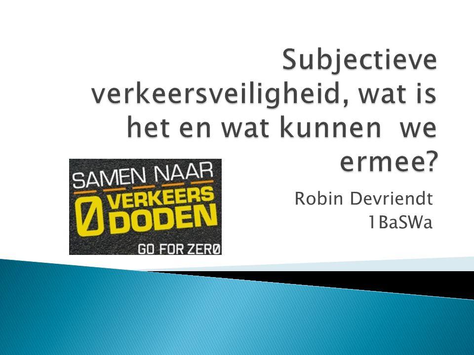  Willem Vlakveld (onderzoeker bij Stichting Wetenschappelijk Onderzoek Verkeersveiligheid (SWOV))  Verkeerskunde nr.5/2009