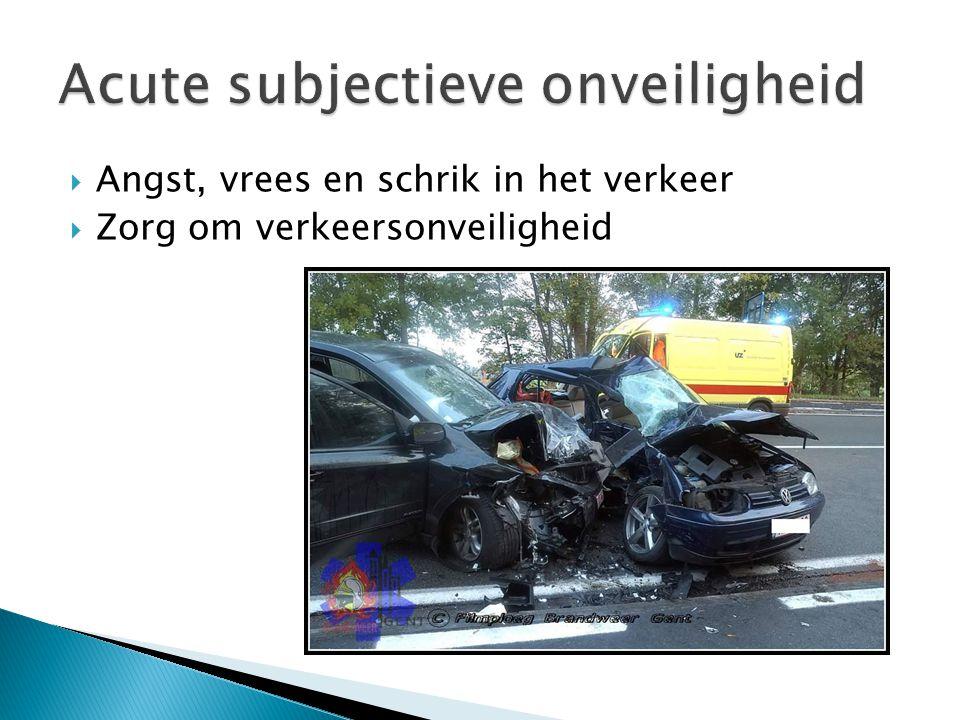  Enkele voorbeelden: ◦ Media-aandacht ◦ Vertrouwen in instanties ◦ Aard van het incident ◦ Betrouwbaarheid van de informatiebron