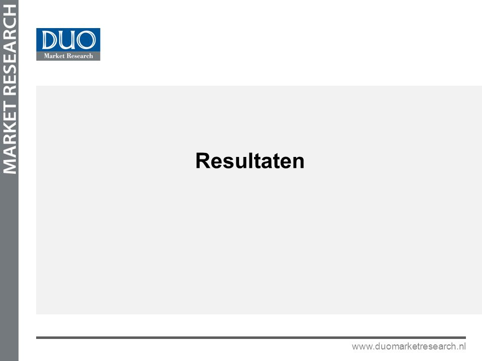 www.duomarketresearch.nl Werkdruk