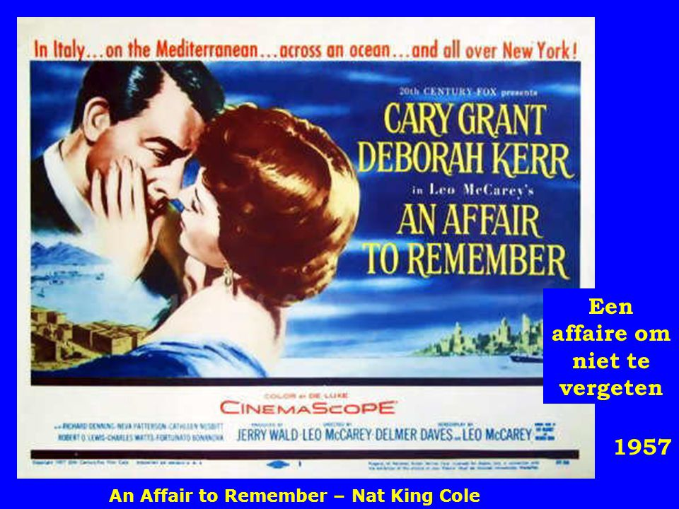 1956 De man die te veel wist Que será, será – Doris Day