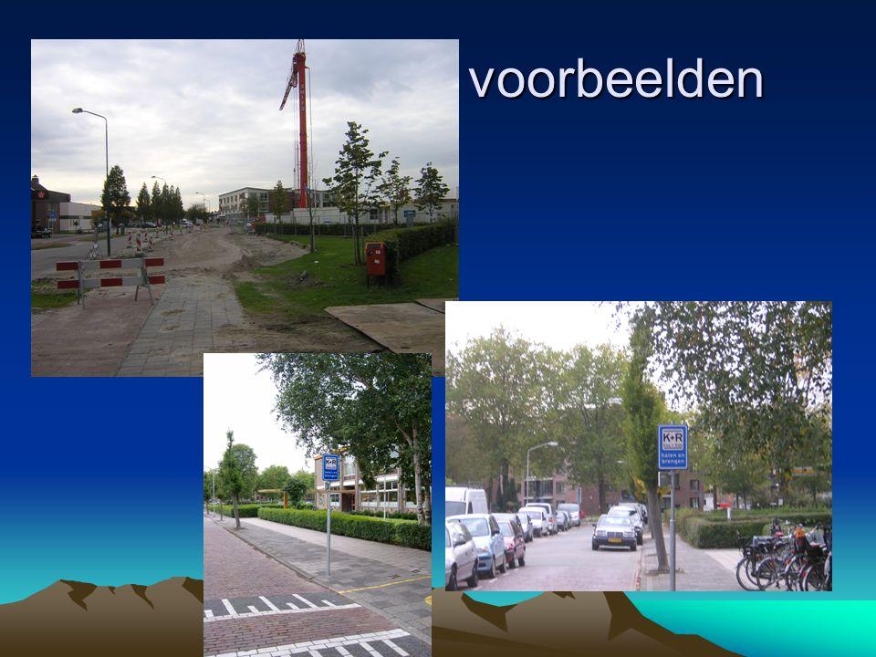 Overig verkeer Logische routes Het mag bekend zijn, dat met name jeugd nogal de neiging heeft om met de fiets bochten af te snijden.