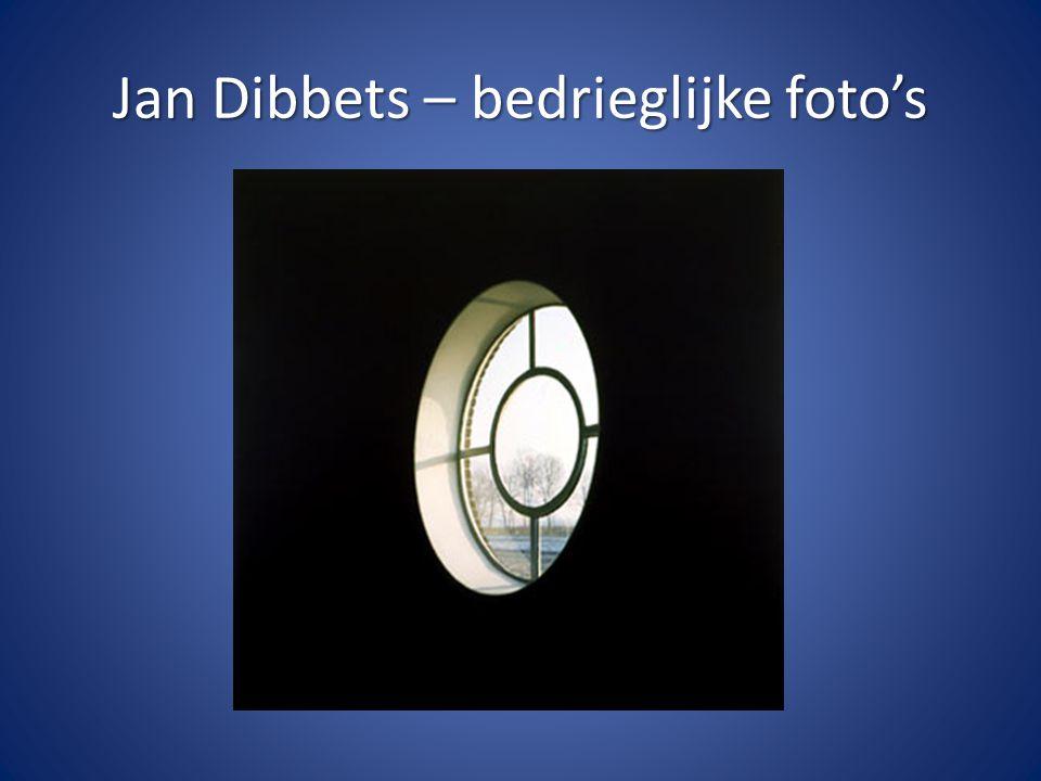 Jan Dibbets – bedrieglijke foto's