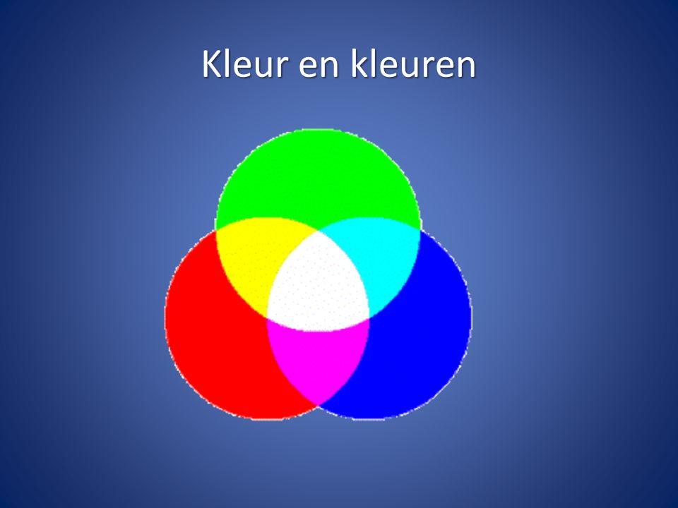 Kleur en kleuren