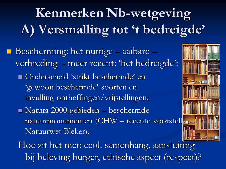 Aansluiting bij 10-punten & Wet Mooi Nederland.