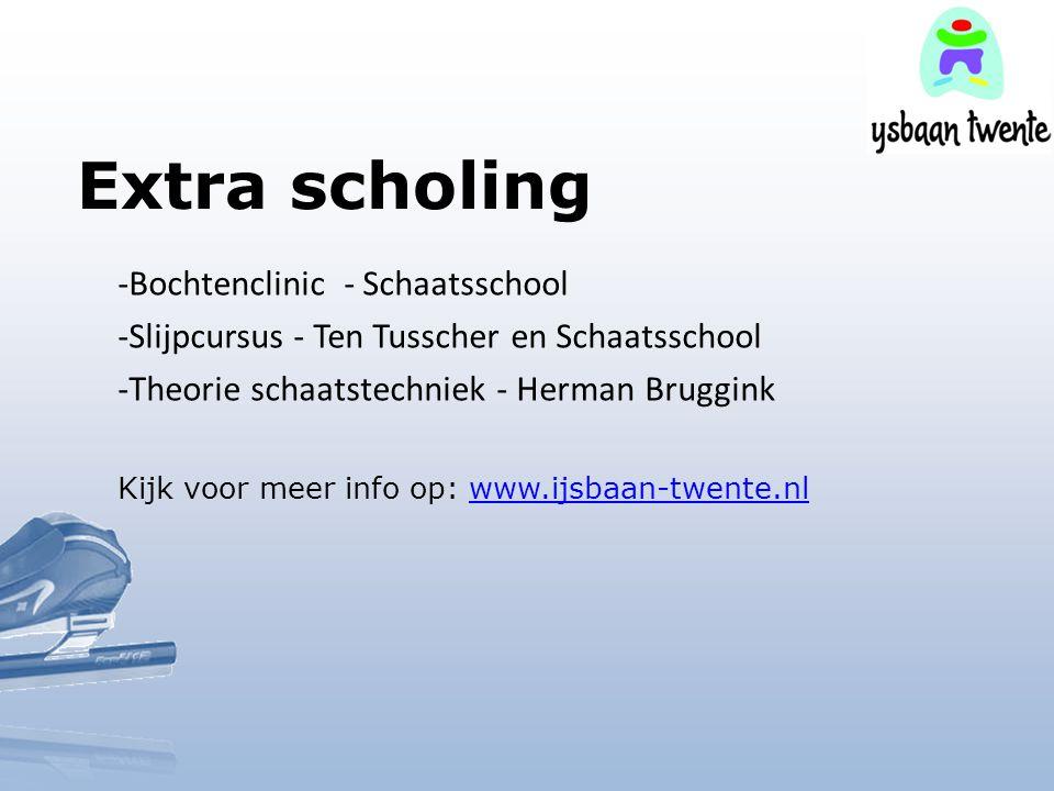 Extra scholing -Bochtenclinic - Schaatsschool -Slijpcursus - Ten Tusscher en Schaatsschool -Theorie schaatstechniek - Herman Bruggink Kijk voor meer i