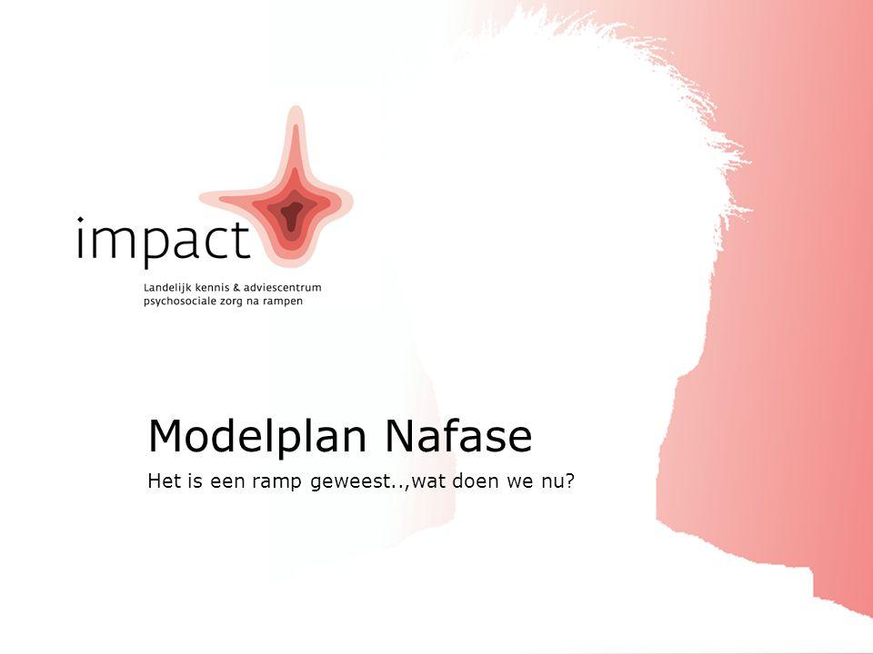 ImpactModelplan Nafase2010 Modelplan Nafase deel 4 Een overzicht van de betrokkenen bij het project en de gebruikte literatuur.