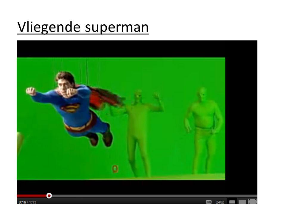 Vliegende superman
