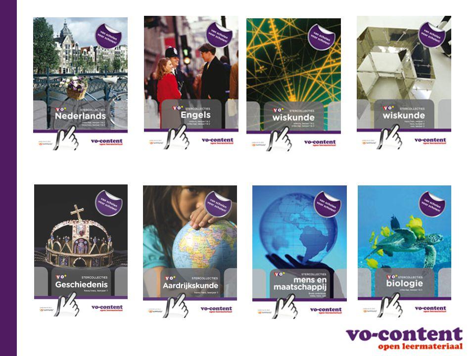 VO-content, (Ster)collecties en Wikiwijs