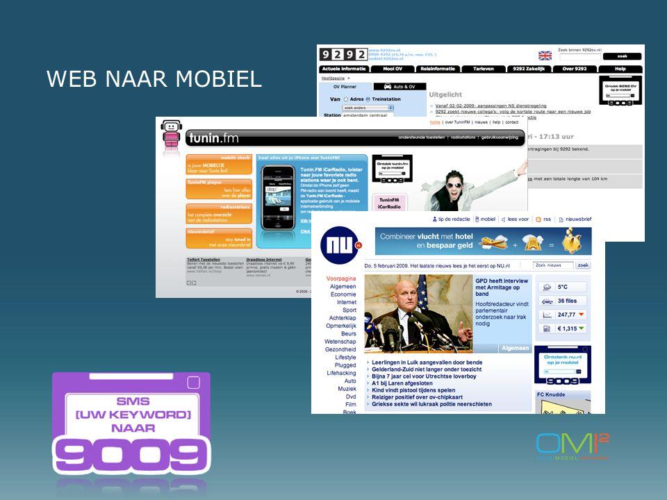 WEB NAAR MOBIEL