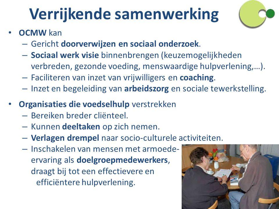 Verrijkende samenwerking OCMW kan – Gericht doorverwijzen en sociaal onderzoek.