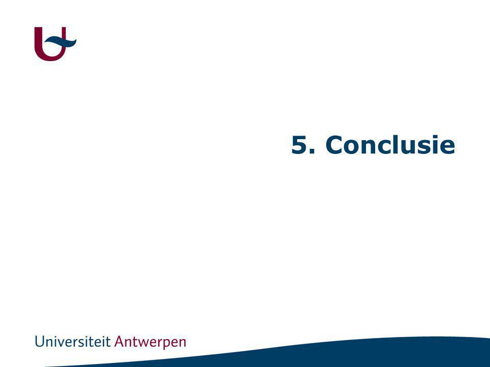 5. Conclusie