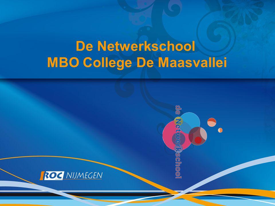 De Netwerkschool MBO College De Maasvallei