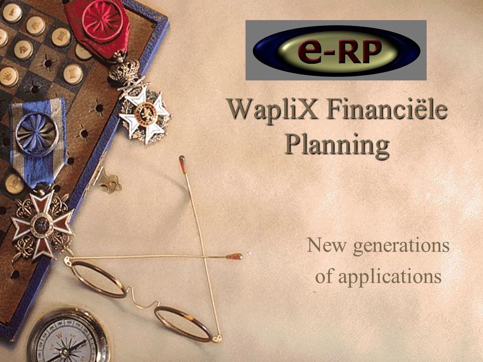 Wat is WapliX Financiële Planning.