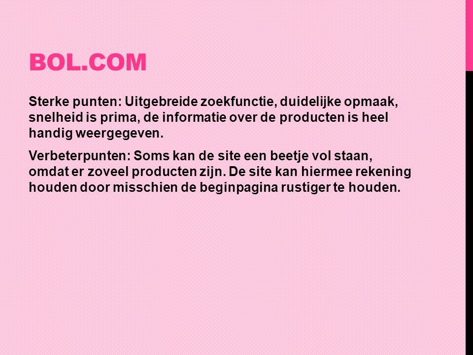 OVERHEID.NL Sterke punten: De herkenbaarheid is goed, je weet meteen wat de site te bieden heeft.