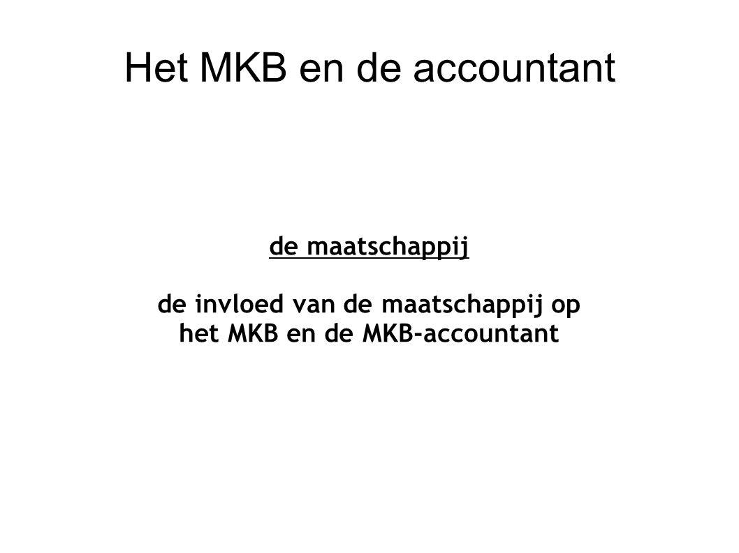 Het MKB en de accountant OvRAN en accountants het nadeel van een rule based benadering
