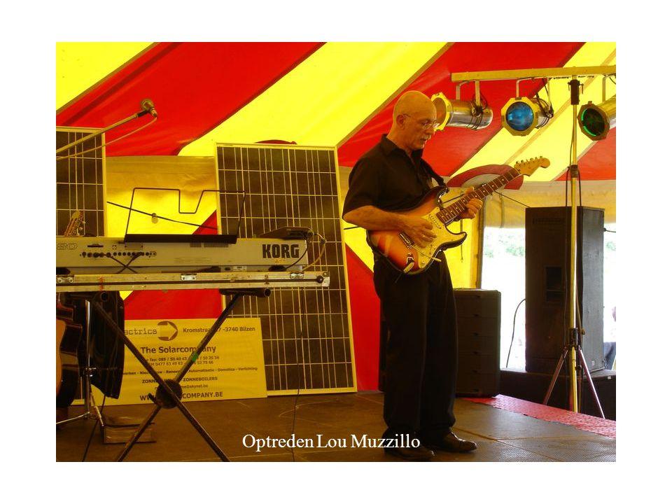 Optreden Lou Muzzillo