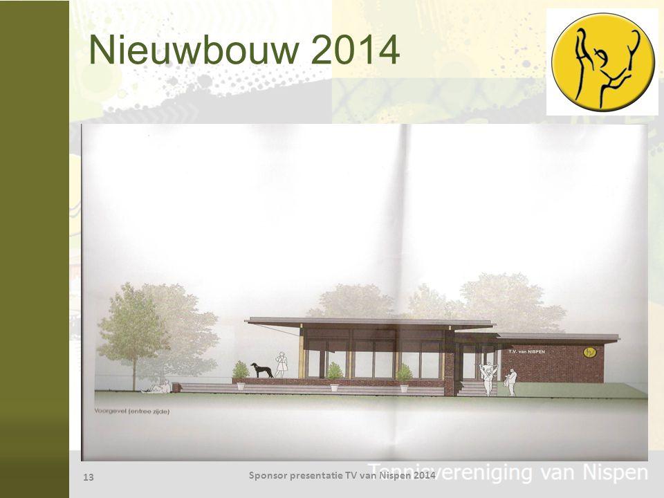 Nieuwbouw 2014 13 Sponsor presentatie TV van Nispen 2014