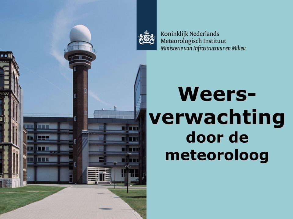 KNMI - Lesmodule Weer - maart 2012 Weersverwachting door de meteoroloog 12 Labyrinth (VPRO) http://www.wetenschap24.nl/programmas/labyrint/labyrint- tv/2010/mei/26-05.html (tot en met 18.30 minuten) Klokhuis http://www.hetklokhuis.nl/onderwerp/weersverwachtingen De weersverwachting – eventuele video's