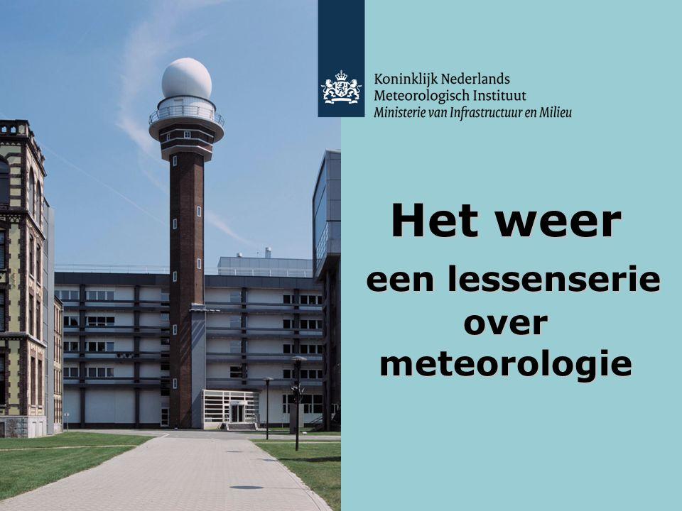 Het weer een lessenserie over meteorologie