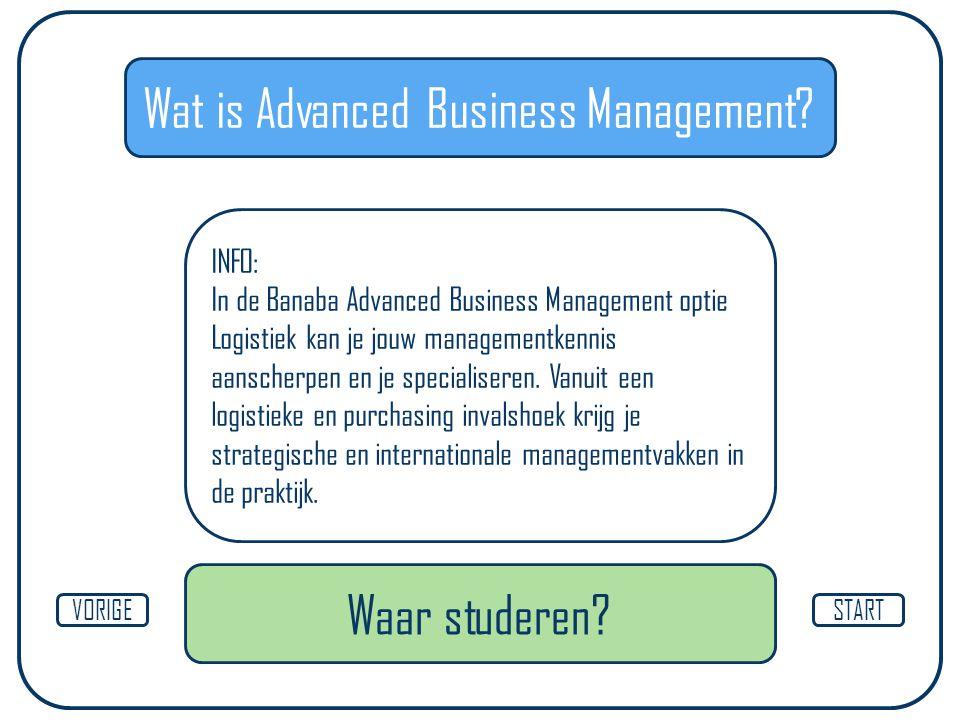 Wat is Advanced Business Management.