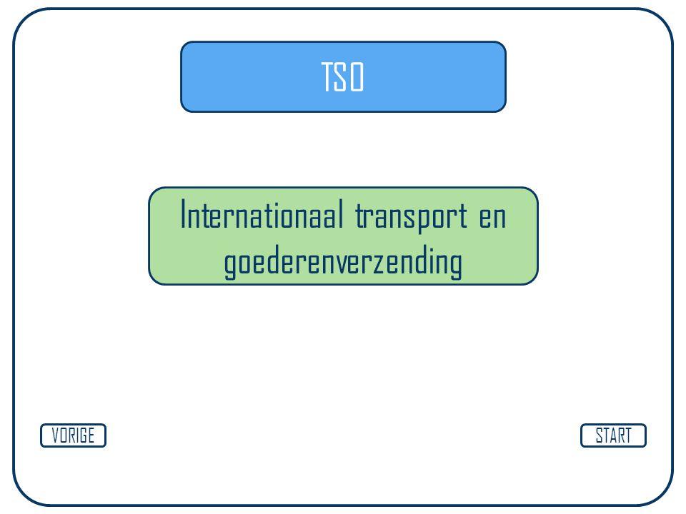 TSO Internationaal transport en goederenverzending STARTVORIGE