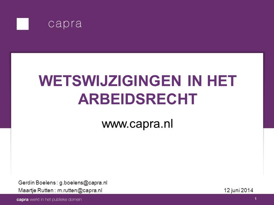 2 Wet normalisering rechtspositie ambtenaren Wet werk en zekerheid WETGEVINGSOVERZICHT