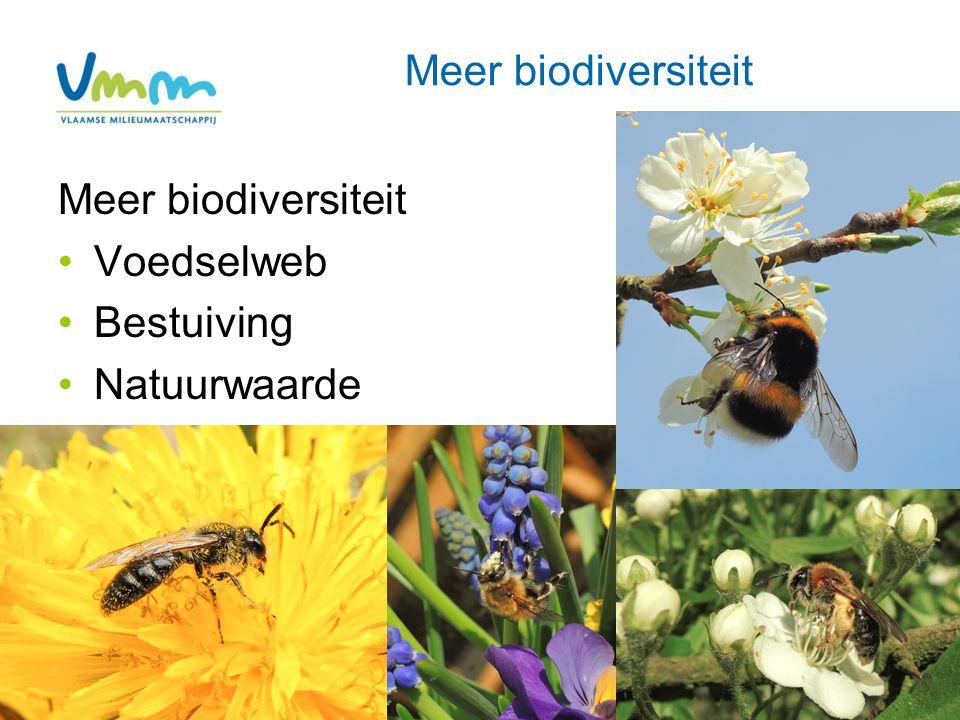 Meer biodiversiteit Voedselweb Bestuiving Natuurwaarde 9