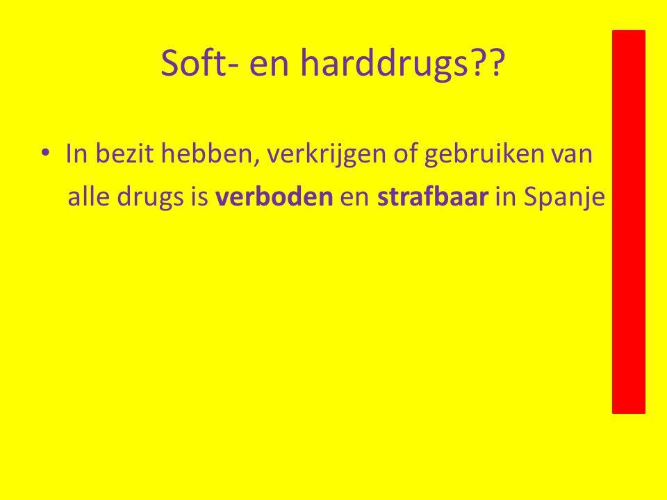 Soft- en harddrugs?.