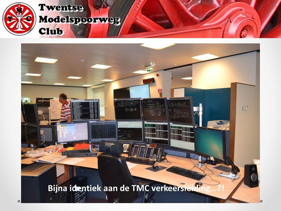 Bijna identiek aan de TMC verkeersleiding… !