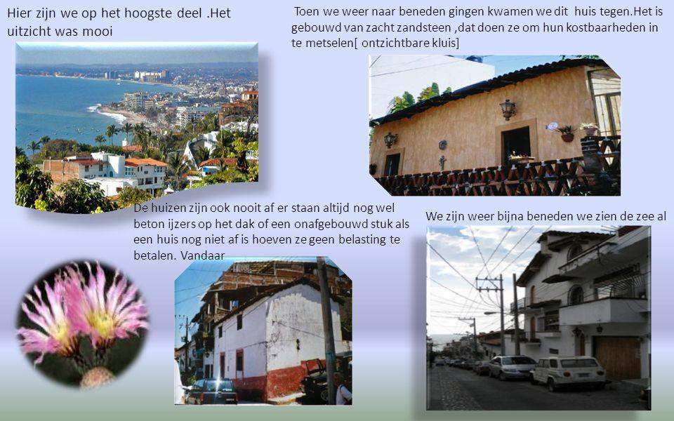 Door de smalle straatjes gingen we naar boven de bergen in naar het huis van Elsabeth Tayler. Het beroemde rose bruggetje waar Elisabeth en Richard ee