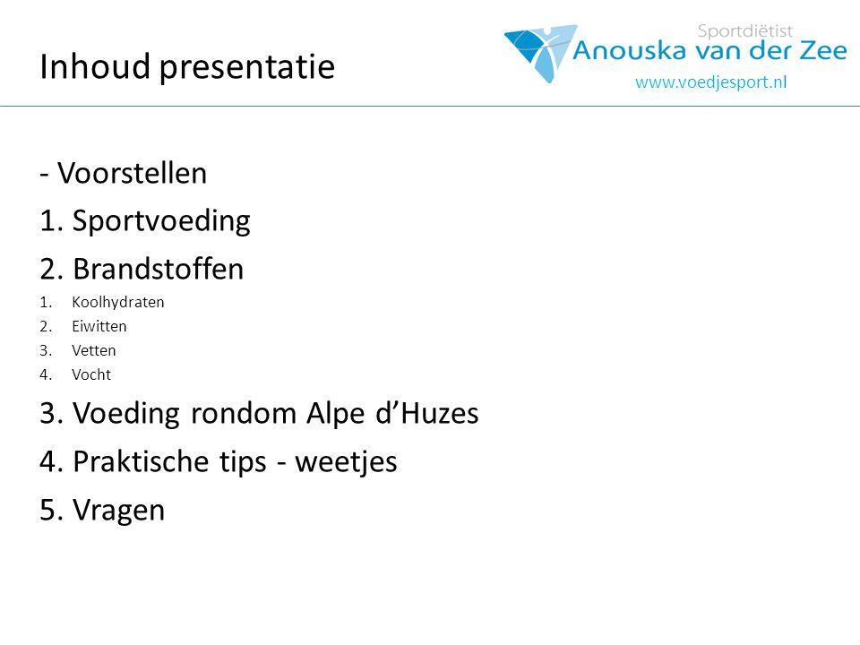 Voorstellen www.voedjesport.nl